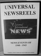 UNIVERSAL NEWSREELS 1940 - 1943 (DVD)