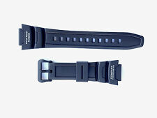 Genuine Casio Replacement Band for SGW500H-1B SGW500H Black with White letters