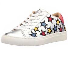 SKECHERS Street Silver Side Street - Star Side Fashion Sneaker 8.5  STORE RETURN