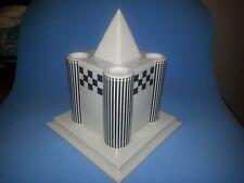 Austrian Postmodern Porcelain Candelabra By Heide Warlamis Vienna Collection