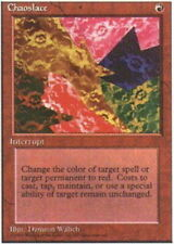 Chaoslace ~ Damaged Alternate 4th Edition Fourth UltimateMTG Magic Red Card