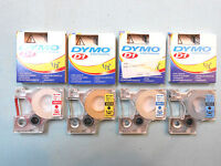 "1/2"" Label Cartridge Assortment - (4) pcs for DYMO LabelMANAGER 200"