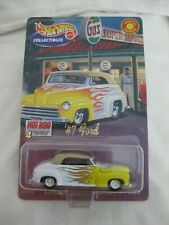 Hot Wheels 2000 Collectibles Hot Rods 2/4 '47 Ford Ltd Series 1 Mint In Card
