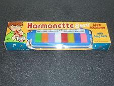 Old Cowan de Groot Codeg Harmonette Blow Accordion 1970s Vintage Music Toy