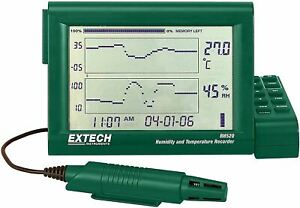 Extech RH520A-240 Humidity Plus Temperature Chart Recorder 240V with Detachable