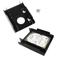 """1Pc 2.5"""" SSD HDD dock to 3.5"""" hard drive bay plastic mounting kit adapter' MD"""
