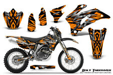YAMAHA WR250F WR450F 2007-2011 GRAPHICS KIT CREATORX DECALS BTONP