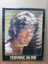 Vintage Poster Staying alive movie Travolta movie 1983 Inv#G3436