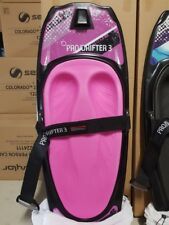 kneeboard CSS prodrifter 3 pink pad just arrived with cover + Tow hook
