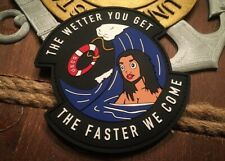 Coast Guard The Wetter You Get Pvc Patch