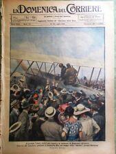 La Domenica del Corriere 10 Luglio 1921 Raid memoria Baracca Ippica Ascot Milano