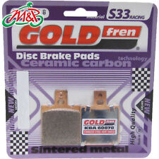 Cagiva Mito 500 2007 Rear Goldfren S33 Disc Brake Pads