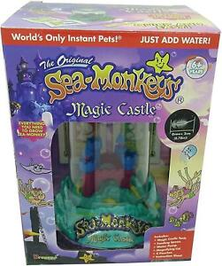 Sea Monkeys Magic Castle Aquarium