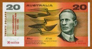 Australia, 20 dollars, 1993, P-NL, UNC > commemorative, 5500 issued