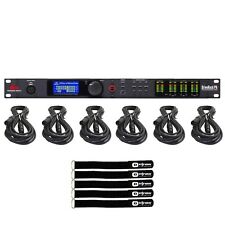 DBX DriveRack PA2 Complete Loudspeaker Management System + XLR Cables Package