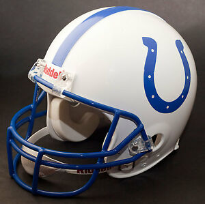 MARVIN HARRISON Edition INDIANAPOLIS COLTS Riddell REPLICA Football Helmet