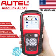 Autel Diagnostic Scanner AutoLink AL519 OBD2 CAN Check Engine Light Fault Code