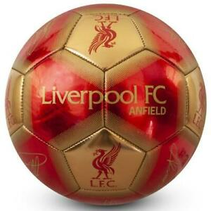 LIVERPOOL FC SIGNATURE FOOTBALL SIZE 5