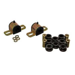 Energy Suspension Sway Bar Bushing Kit 3.5205G; Rear Black for Chevy Tahoe (4WD)