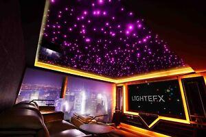 StarEFX DIY starlight 502 kit of up to 800 starlight points with 2x5-watt LEDs