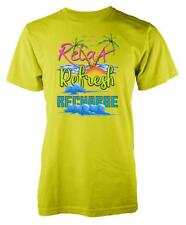 80s 8 bit blocky Relax Refresh Recharge Holiday Adult T Shirt