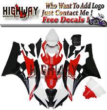 Red White Fairings For Yamaha YZF600 YZF R6 06 07 ABS Fairing Kit Bodywork New