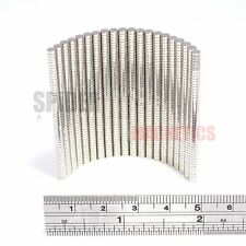500/1000 Tiny Magnets 3x1 mm N52 Neodymium Disc small craft magnet 3mm dia x 1mm