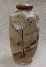 Vintage Imperial Nippon Hand Painted Vase Brown's & Gold Design 171192