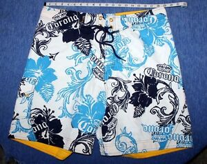 EUC    Men's    Corona  Beer   Hawaiian   Board    Swim Shorts   38   XXL