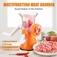 Multifunction Hand Crank Manual Meat Grinder Mincer Sausage Filler Maker Machine