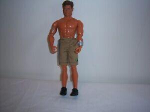 "VINTAGE 1998 MATTEL ACTION MAN (MAX STEEL???) - 12"" DOLL"