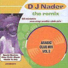 DJ Nader : Remix: Arabic Club Mix, Vol. 2 CD