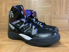 RARE🔥 Adidas Mutombo 55 Basketball Shoes Black Purple Red Men's Sz 10.5 Q33016