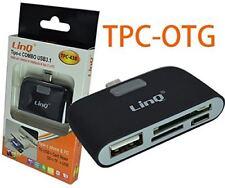 Lettore di schede di memoria esterna usb Type C Adattatore LINQ TPC 438