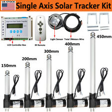 New Listing6000n Single Axis Pv Solar Panel Tracking Lcd Controller Sunlight Tracker System