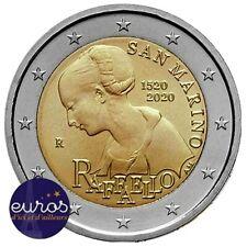 2 euros commémorative SAINT MARIN 2020 - Disparition de Raffaello - BU
