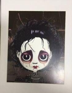 Johnny Depp Edward Scissorhands Caricature Print