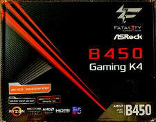 ASRock Fatal1ty B450 Gaming K4 AMD AM4 Socket Motherboard Desktop (ATX) 256 NVME