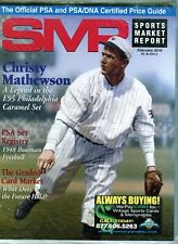 New listing FEB 2010 CHRISTY MATHEWSON COVER SMR PSA SPORTS MARKET REPORT PRICE GUIDE  MINT