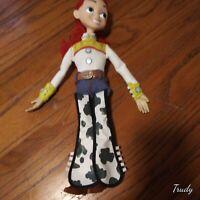 "Disney Pixar Toy Story Jessie 15"" Pull String Talking Doll  & Works!"