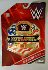 JAKKS WWE UNITED STATES CHAMPION BELT BUCKLE