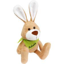 Plüschhase Hase Stofftier mit Wunschname Ostern Geburt Geschenk Geburtstag