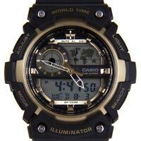 Casio Men's Digital Collection Watch AEQ-200W-9AVEF Black Strap RRP £55 Bargain
