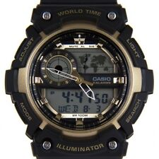 Casio Men's Digital Collection Watch AEQ-200W-9AVEF Black Strap RRP £55 Bargain