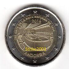 2 EURO COMMEMORATIVO ANDORRA 2016 FDC Nuova Riforma