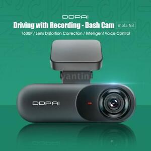Global Version DDPAI mola N3 Dash Cam Driving Recorder Super Night Vision 1600P