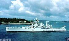 ROYAL NAVY LEANDER CLASS FRIGATE HMS ARETHUSA c 1978