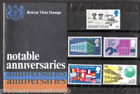 GB Presentation Pack 9 1969 Notable Anniversaries
