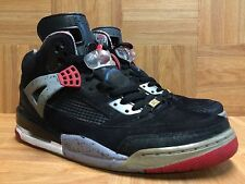 RARE🔥 Nike Air Jordan Spizike Black Red Cement Military Blue 315371-062 Sz 9.5