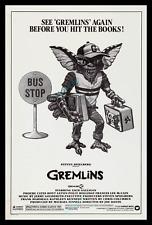 PANIC😖SALE ⌦BELOW COST! ☆ GREMLINS 1984 SPIELBERG PRINTER'S PROOF MOVIE POSTER!